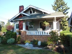 Craftsmn bungalow with porch