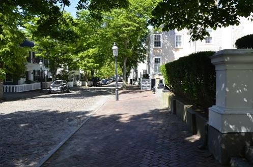 Cobblestone Nantucket street