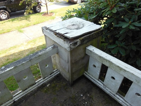 rotten corner post